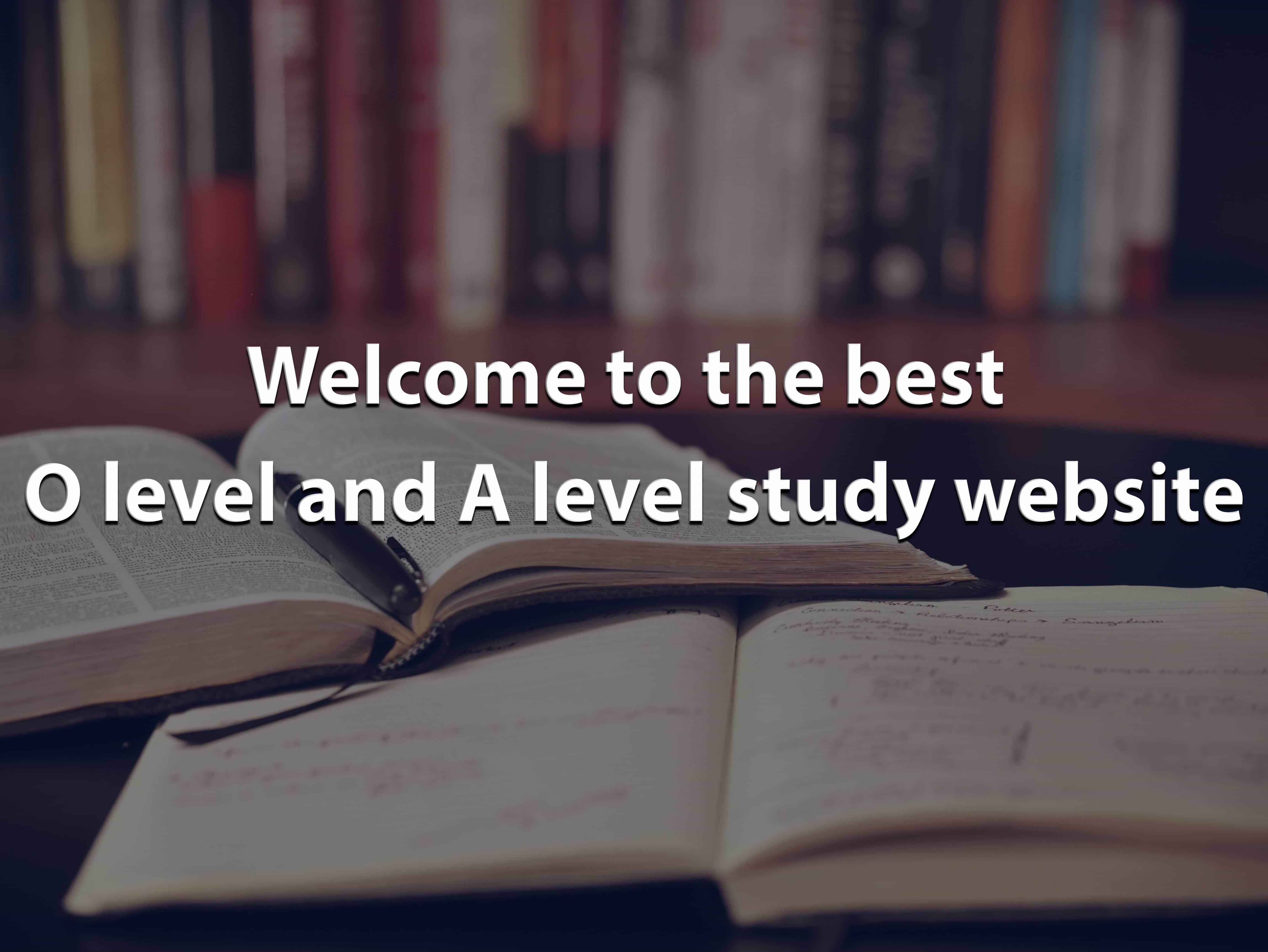 GCE Compilation - All Gce O and A level Resources