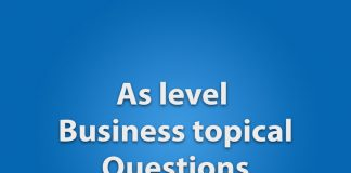 As business guess paper 2017