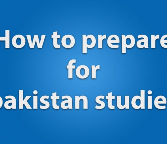 how to prepare for pakistan studies