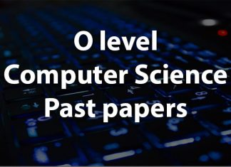 O level Computer science Past papers