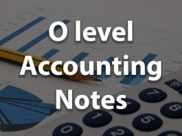 O level Accounting Notes pdf