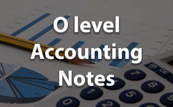 O level Accounting Notes pdf