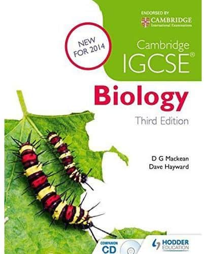 IGCSE biology book cover