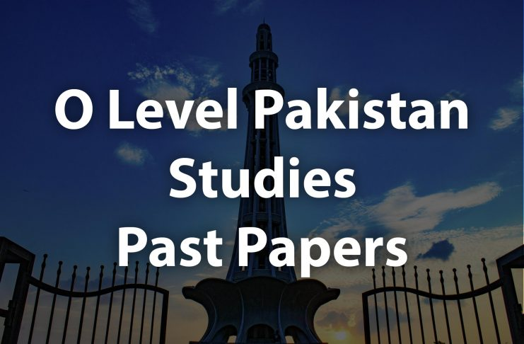 O level pakistan studies past papers cover