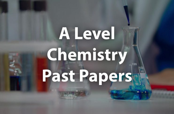 A Level chemistry past papers