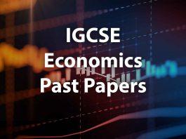 GCSE Economics past papers