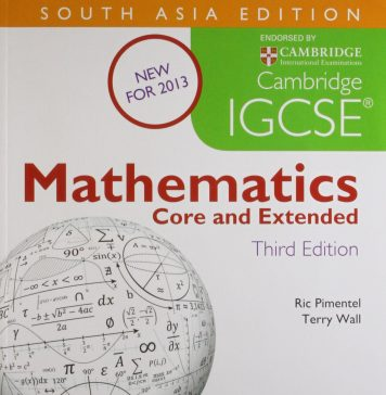 IGCSE Mathematics book cover pdf