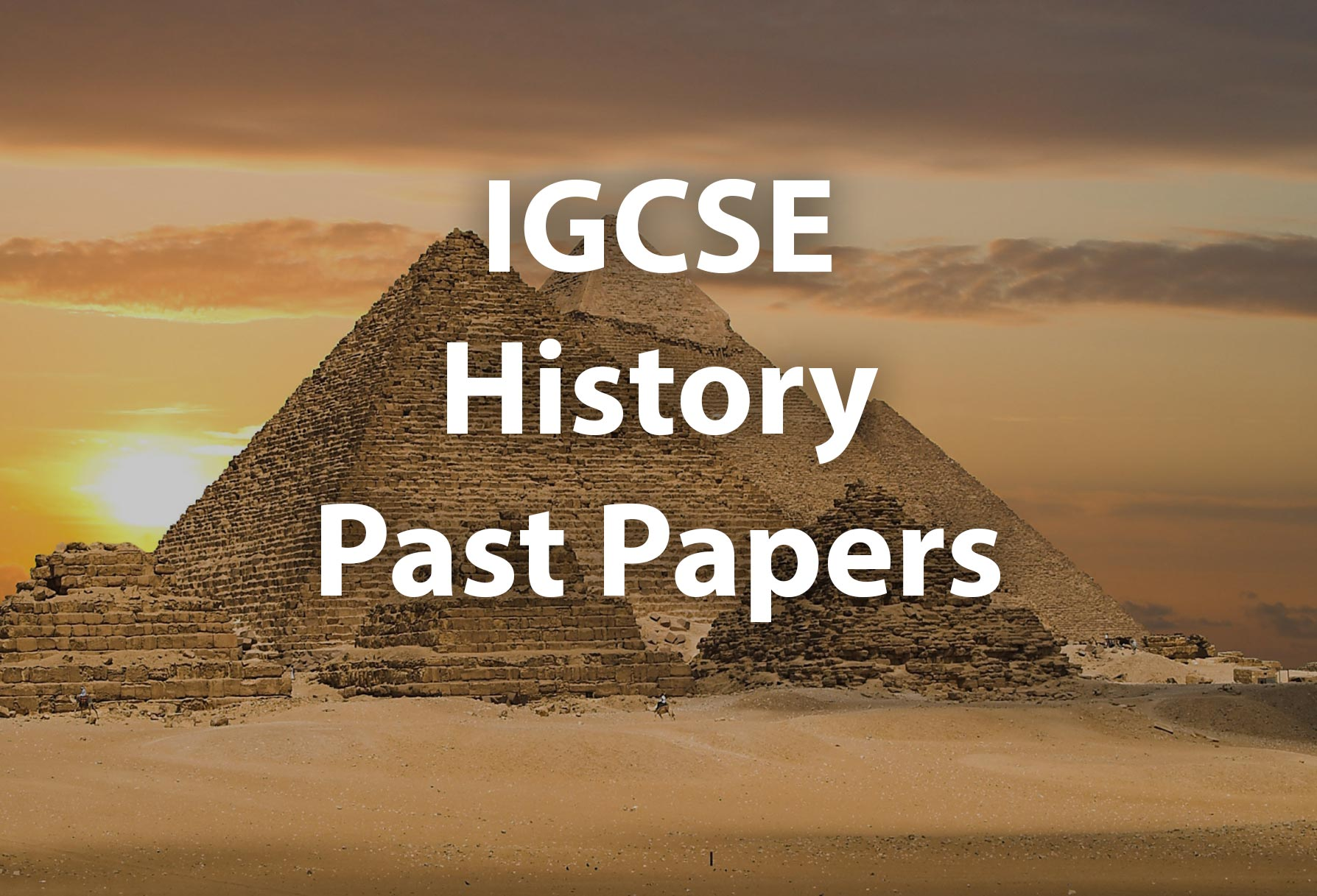 IGCSE History Past Papers