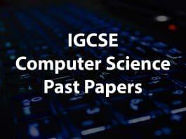 IGCSE Computer sciecne past papers