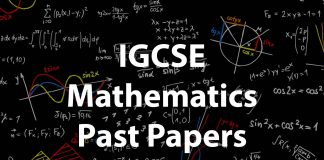 IGCSE Mathematics Past papers