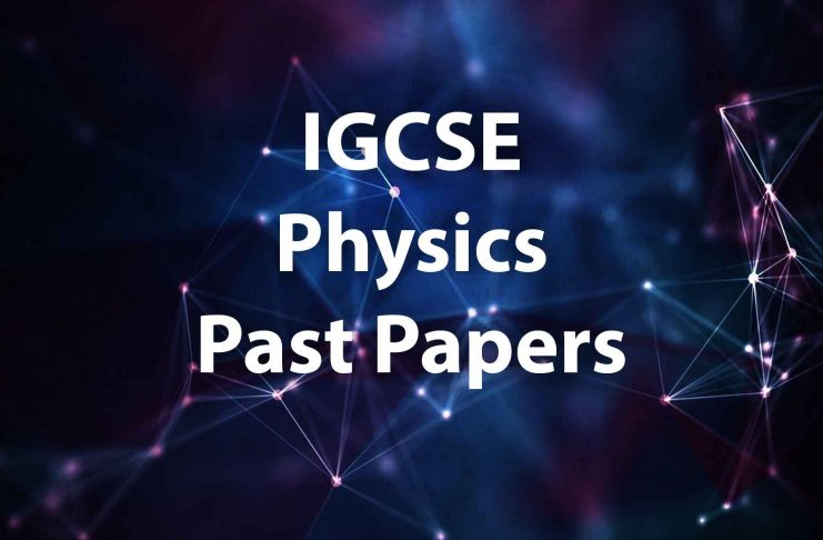 igcse physics past papers