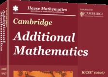 IGCSE Add Maths Book cover