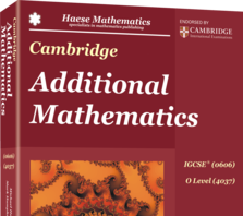 IGCSE Add Maths Book cover