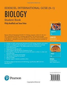 Edexel biology cover back