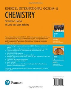 Edexel IGCSE(9-1) Chemistry Book Free Download PDF